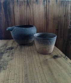 Pitcher and small cup by Kenji Gomi.  五味謙二さんの片口と蕎麦猪口です。