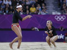 London Olympics no day at the beach for Misty May-Treanor and Kerri Walsh Jennings