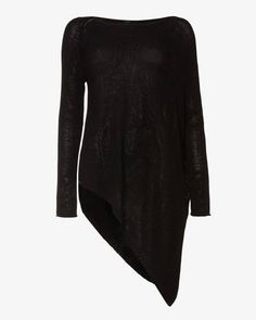 e4e2aacc1b6 Phase Eight Drina Asymmetric Knitted Jumper Black