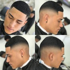 Men's Top 100 Hairstyles Black - Hairstyle Man - - In this new Top 100 black and half-breed men are in the spotlight. After many requests received for hairstyles of black men, we have concocted a little. Black Boys Haircuts, Black Men Hairstyles, Haircuts For Men, Hairstyles Pictures, Curly Hair Men, Curly Hair Styles, Waves Hairstyle Men, Short Fade Haircut, Black Hair Cuts