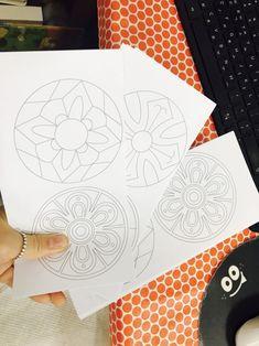 우리나라 프로젝트 : 전통문양 팽이 만들기 : 네이버 블로그 Korean Art, Playing Cards, Blog, Korean Style, Cards