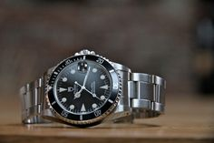 Rolex Tudor Submariner - I've been lusting after this watch half my life. Now the only thing on my arm more beautiful than this watch is my wife.