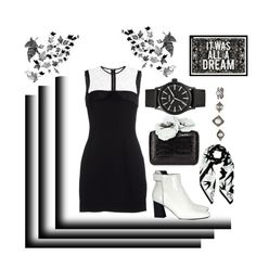 """""""It Was All A Dream x"""" by tiarheanne ❤ liked on Polyvore featuring Victoria Beckham, Proenza Schouler, Nancy Gonzalez, McQ by Alexander McQueen, Nixon, Charlotte Russe and Oliver Gal Artist Co."""