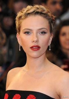 Scarlett Johansson y su look de princesa, paso a paso