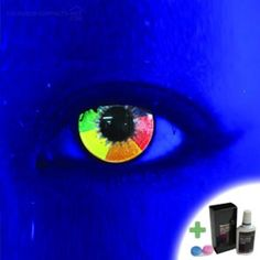 Cool Rainbow Things | Mesmereyez Rainbow Coloured Contacts
