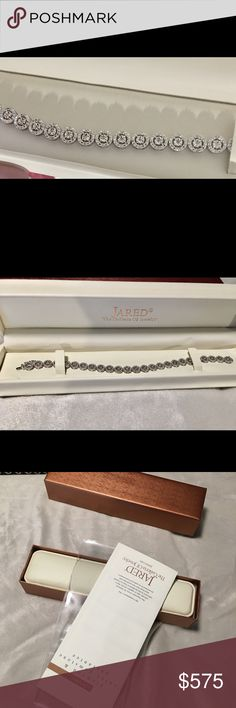 Jarod's Jewelry Diamond tennis bracelet Never worn brand new. Beautiful Jarod's tennis bracelet Jewelry Bracelets