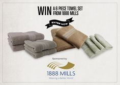 GIVEAWAY: 1888 MILLS' MADE IN USA TOWELS - USA Love List - ends 2/13/14