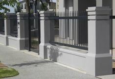 5 Jolting Ideas Modern Fence Design aluminum fence - How To Build A Fence Garden Fence Panels, Front Yard Fence, Fenced In Yard, Low Fence, Lattice Fence, Fence Art, Rail Fence, House Fence Design, Modern Fence Design
