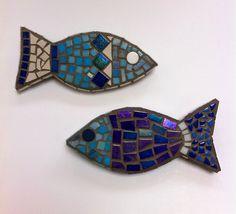 Mosaic fish.