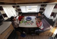 Rent an RV for your next family vacation and enjoy quality time around the kitchen table | Ronald's Top 10 Reasons to Go On a Family RV Vacation http://ow.ly/fS9Vi
