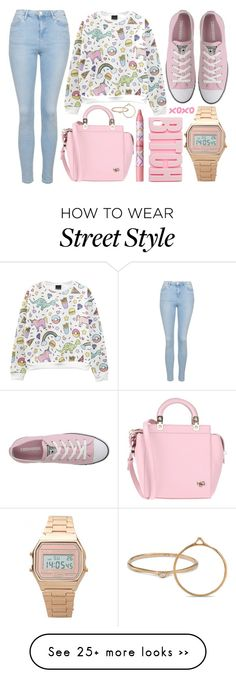 """street style"" by sisaez on Polyvore featuring Topshop, Converse, Givenchy, tarte and ASOS"