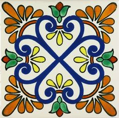 Especial Decorative Tile - Zacatecas II – Mexican Tile Designs