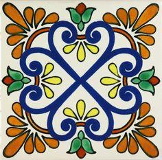 Especial Decorative Tile - Zacatecas II – Mexican Tile Designs