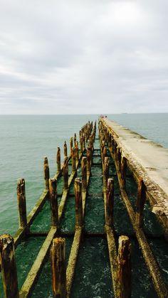 Linda imagem autoral de fortaleza, na ponte dos ingleses. #fortaleza #pontesdosingleses # paraiso
