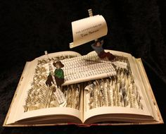 Incredible Pop-Up Book Sculptures by Jodi Harvey-Brown