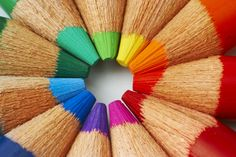 Photographer and copyright holder: José de Jesús Cervantes Gallegos. Macro of color pencils.