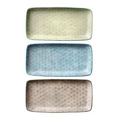 Isabella Ceramic Tray Set of 3 New Home Wishes, Tray Decor, Home Living, Christmas Inspiration, Home Accents, Decoration, Decorative Plates, Ceramics, Trays