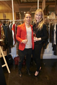Aaron Favaloro and Alayna Taylor at Evening With Our Designers 2013 at Strand Arcade, featuring the launch of the 1891 publication, the We Are The Makers series, and our SS13 campaign. #ss13 #EWOD #strandarcade