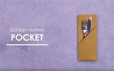 Bliv inspireret af vores easy videoer til servietfoldning og borddækning.