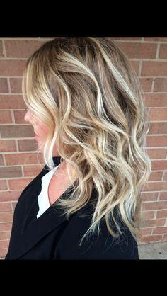 Balayage! Hannah Rose Hair Color