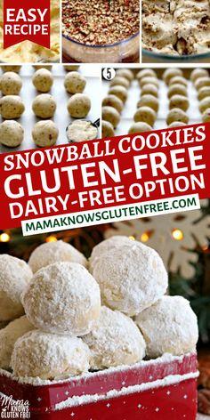 Gluten Free Deserts, Gluten Free Sweets, Foods With Gluten, Gluten Free Cooking, Sans Gluten, Vegan Gluten Free, Paleo, Dairy Free Options, Dairy Free Recipes