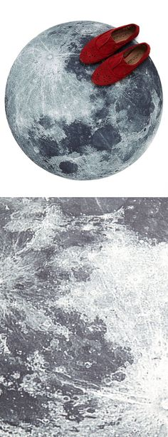 Moon floor rug / mat #product_design