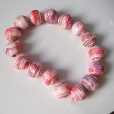 paper beads - I want to try this