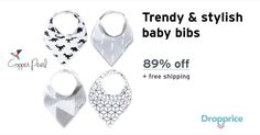 Help me drop the price of the Copper Pearl Baby Bandana Bibs to $3.99 (89% off). Copper Pearl was originally created with the idea and hope to create a line of premium, trendy, and unique baby accessories and clothing. Each product that is sold goes through a rigorous design process to ensure that the designs chosen are both highly functional and fashionable.