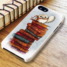 Harry Potter Deadly Hallows Hedwig Owl iPhone 6|iPhone 6S Case Cell Phones & Accessories - Cell Phone, Cases & Covers - http://amzn.to/2iNpCNS