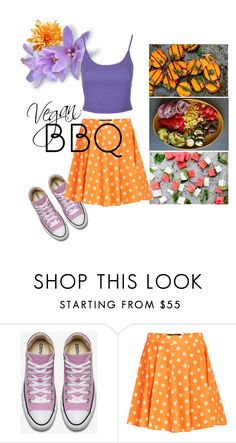 """""""Summer BBQ: vegan"""" by yvonne-tyler ❤ liked on Polyvore featuring interior, interiors, interior design, home, home decor, interior decorating, Jeremy Scott, Topshop and summerbbq"""
