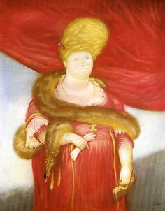 "Botero Fernando - Prima Dona 1970 (from <a href=""http://www.oldpainters.org/picture.php?/47046/category/15820""></a>)"