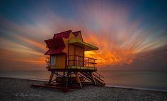 South Beach Sunrise #miami #florida #miamibeach #sobe #southbeach #brickell #Miami by ricky arnesen photography
