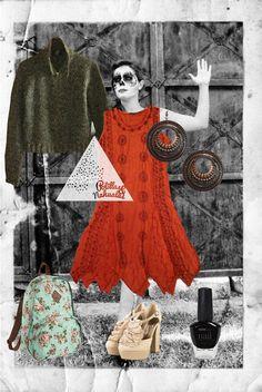 Vestido Catrina:      Suéter Incrospito:                Talla: CH                  Talla: CH    Precio: $150            Precio: $200        Out Fit Completo: $350