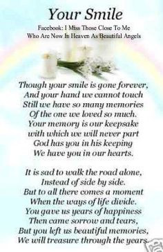 ♥ I Miss Those Close To Me Who Are Now In Heaven As Beautiful Angels
