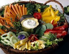 Harvest presentation with gourd serving bowl... beautiful! 15 Times Crudité Was The Most Beautiful Thing On The Table (PHOTOS)