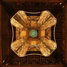Eiffel Tower upskirt.