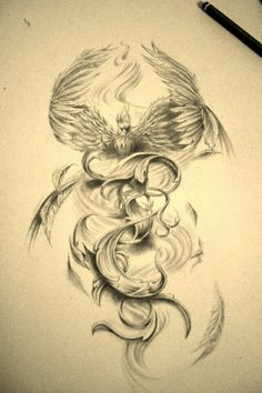 Phoenix by Facundo-Pereyra on DeviantArt Phoenix more effective images that . - Phoenix from Facundo-Pereyra on DeviantArt Phoenix more effective images that we offer via phoenix - Tattoo Dragon And Phoenix, Phoenix Drawing, Phoenix Bird Tattoos, Phoenix Tattoo Design, Phoenix Tattoo Sleeve, Rising Phoenix Tattoo, Phoenix Tattoo Feminine, Phoenix Back Tattoo, Pretty Tattoos