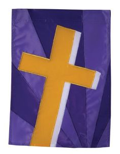 Golden Cross House Applique Flag by Toland Home Garden. Save 52 Off!. $11.99. Decorative Art Flag. Heat sublimated process permanently dyes flag fabric for long-lasting color. Toland Flags are UV, Mildew, and Fade Resistant. All Toland Flags are machine washable. Toland Flags are made from durable 600 denier polyester. Golden Cross Standard Applique Flag 28 by 40