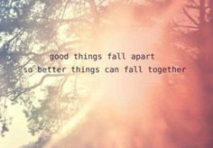 "True that...why all ""good things"" come to an end"