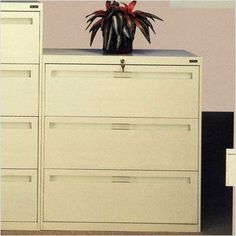 """Lateral File With 3 Drawers and Fixed Drawer Fronts Color: Champagne Putty, Dimensions (W x D x H): 30"""" x 17 15/16"""" x 39 3/8"""", Handles: Long Pull by Tennsco Corp.. $637.99. LPL3036L30 -216 Color: Champagne Putty, Dimensions (W x D x H): 30"""" x 17 15/16"""" x 39 3/8"""", Handles: Long Pull Features: -Three full suspension drawers.-Ball bearing suspensions allow the drawers to glide effortlessly and quietly.-Standard dual-point gang lock with safety interlock system.-Four ad..."""