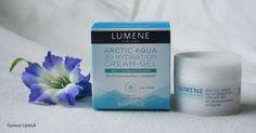 Cosmetics blogger Siamese Lipstick's favorite moisturizer for the fall season is Lumene Arctic Aqua 3D Hydration Cream-Gel. #creamgel #lumene