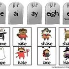 This is a sorting activity for Long A.There are five tombstones with the Long A spelling patterns (a_e, ai, ay, eigh, ea). There are 31 words to ...