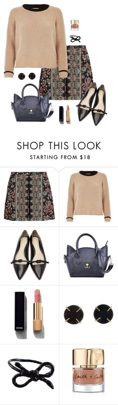"""""""Unpredictable"""" by picassogirl ❤ liked on Polyvore featuring Valentino, River Island, 3.1 Phillip Lim, Chanel, Melissa Joy Manning, Areaware and Smith & Cult"""