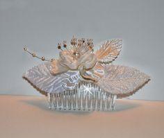 Bridal Fascinator Bridal Fascinator Comb Wedding by JDSWeddings, $20.00