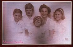 Infanta Beatriz with children: Princes Marco and Marino, and Princesses Alessandra and Olímpia of Torlonia Queen Victoria Descendants, Princess Victoria, Spanish Royalty, Spanish Royal Family, Royal Queen, Handsome Prince, Royal House, Lady And Gentlemen, Little Sisters