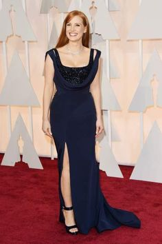 Jessica Chastain attends the 87th Annual Academy Awards on Feb. 22, 2015 in Hollywood, Calif.