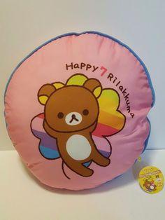 Authentic Rilakkuma san-x 15inch 7th Anniversary BIG Cushion From Japan KAWAII | Collectibles, Animation Art & Characters, Japanese, Anime | eBay!