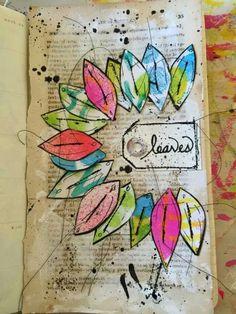 ART JOURNALING...Where Art & Words Meet