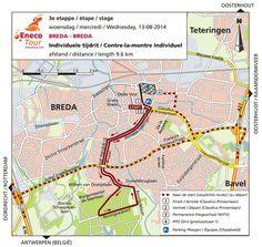 Route Breda Eneco Tour 2014