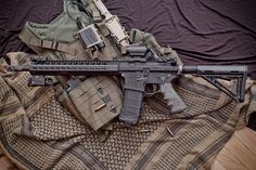 My MEGA Arms AR15 replica with Hogue & Magpul accessories